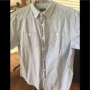 Casual button down short sleeve shirt